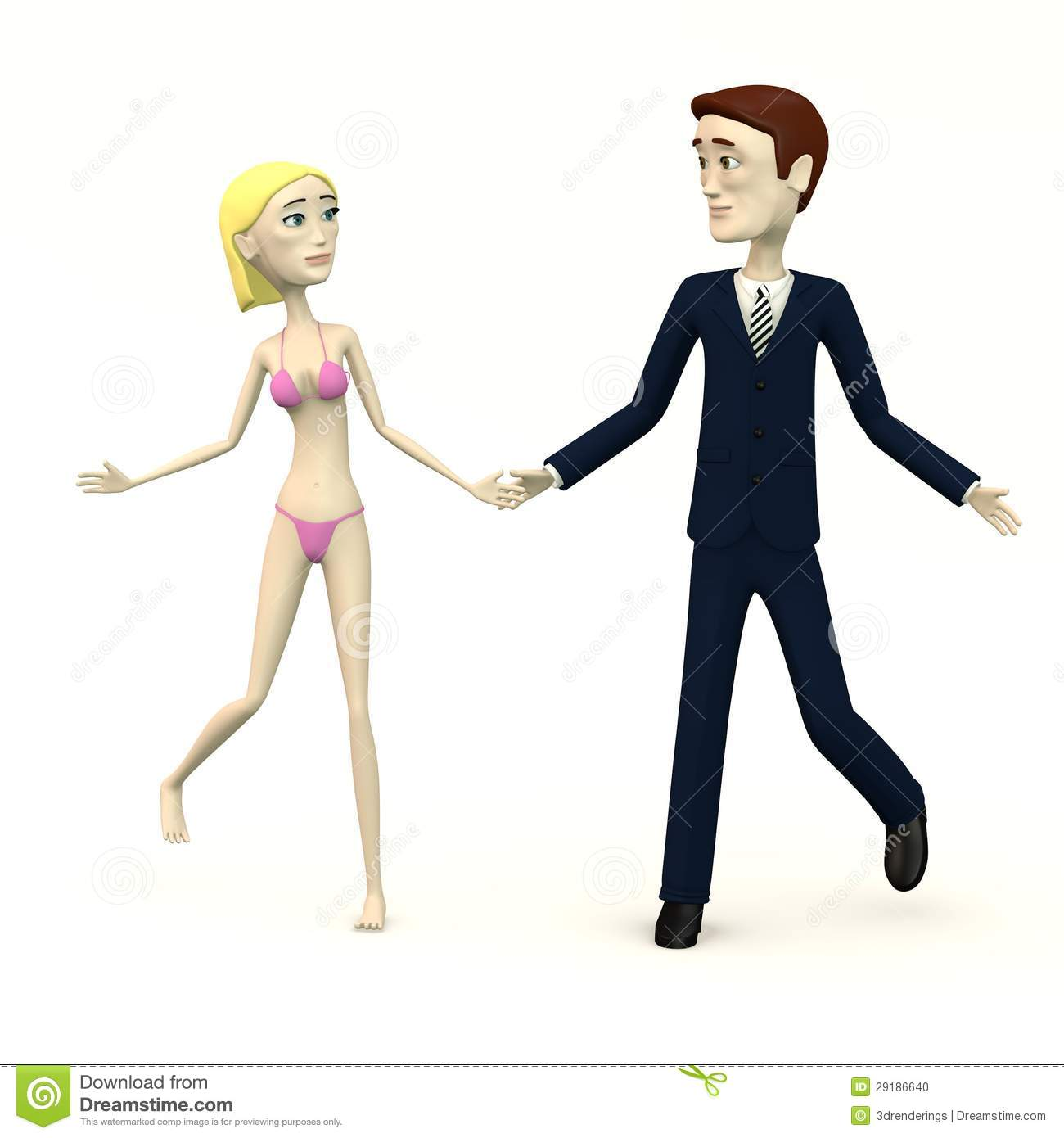 Cartoon Characters Dancing : Cartoon characters dancing stock photo image