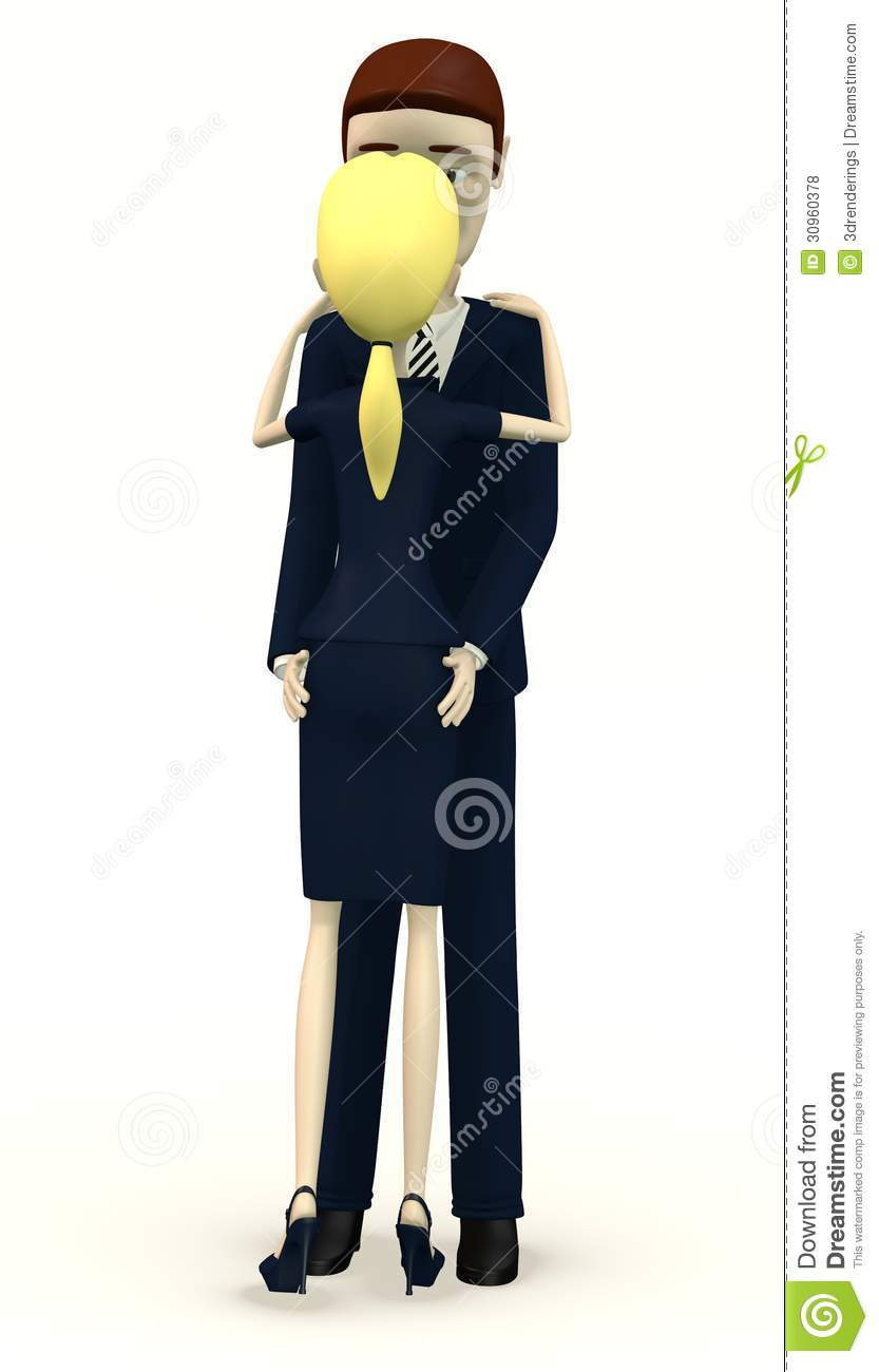 Cartoon Characters In Suits : Cartoon characters in suits dancing royalty free stock