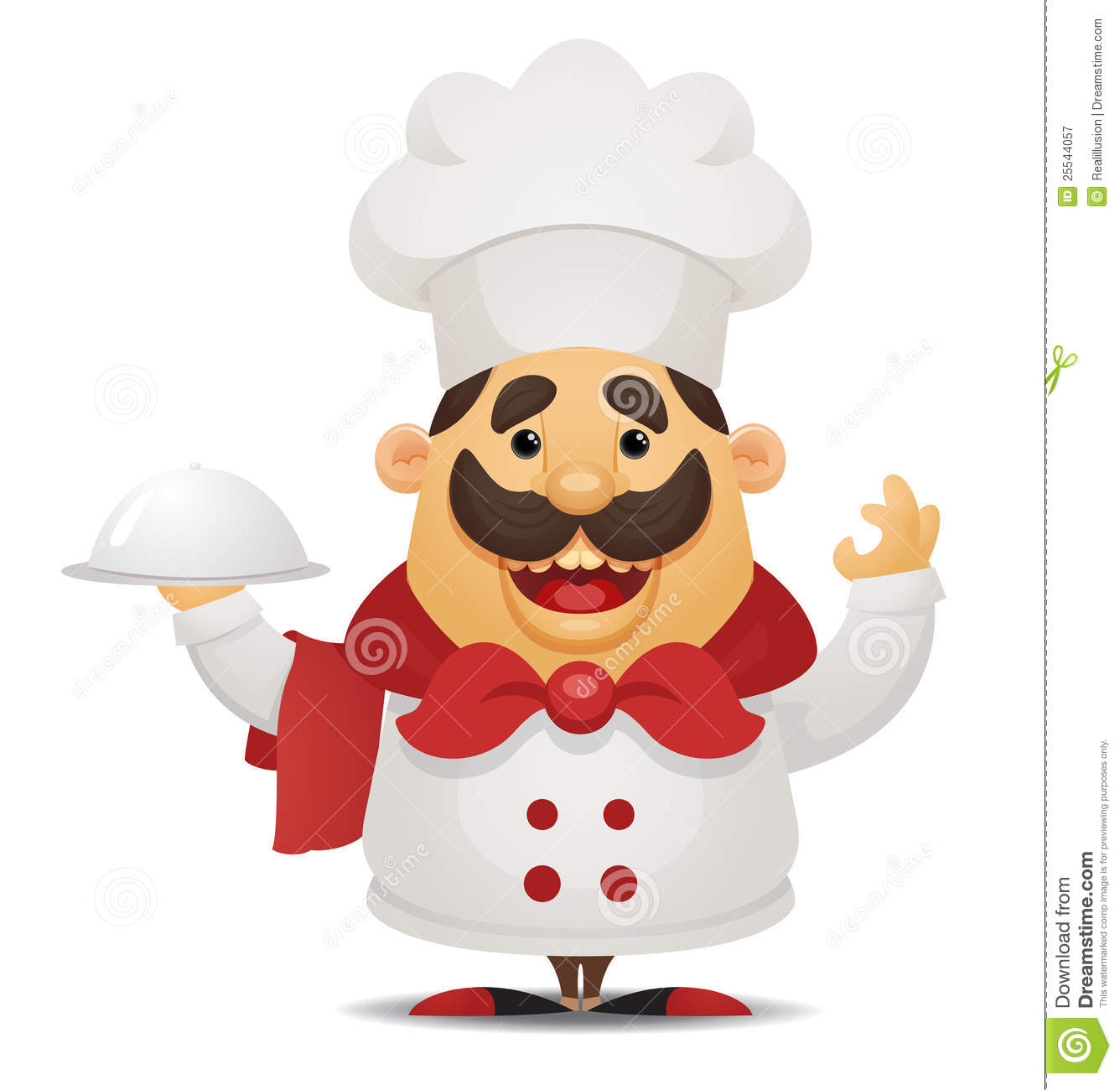 Cartoon chef royalty free stock photography image 25544057