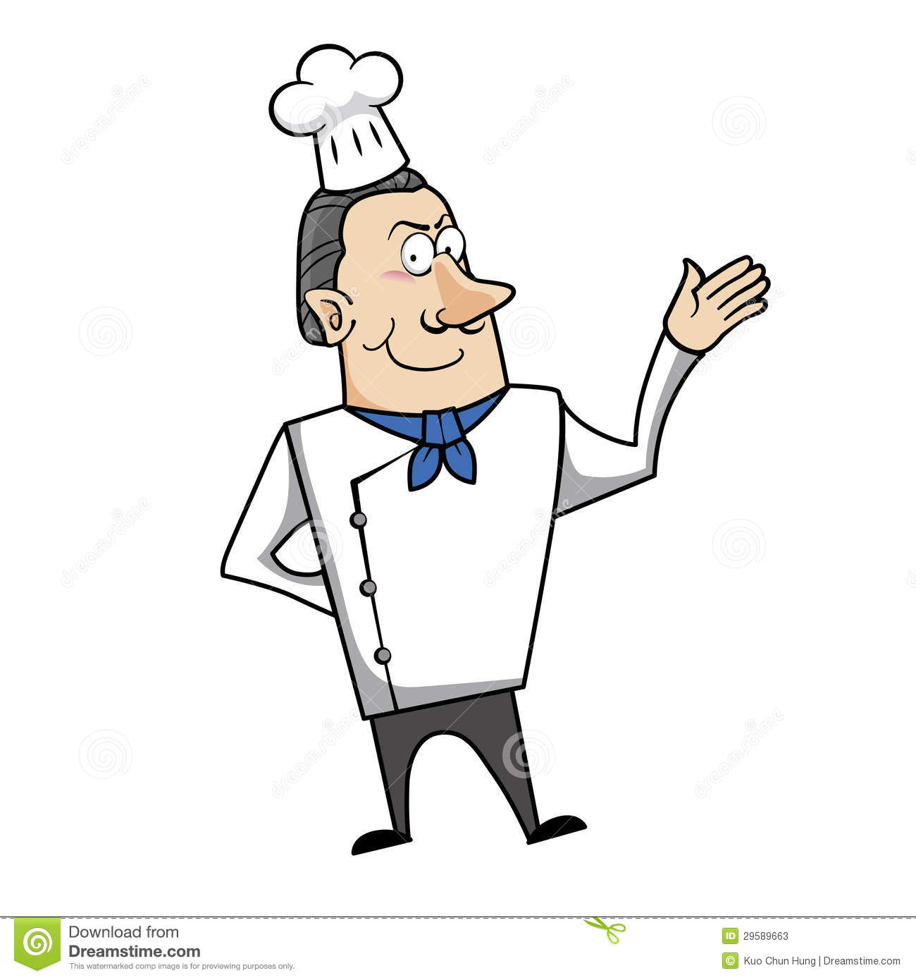 Cartoon Chef Stock Photos - Image: 29589663