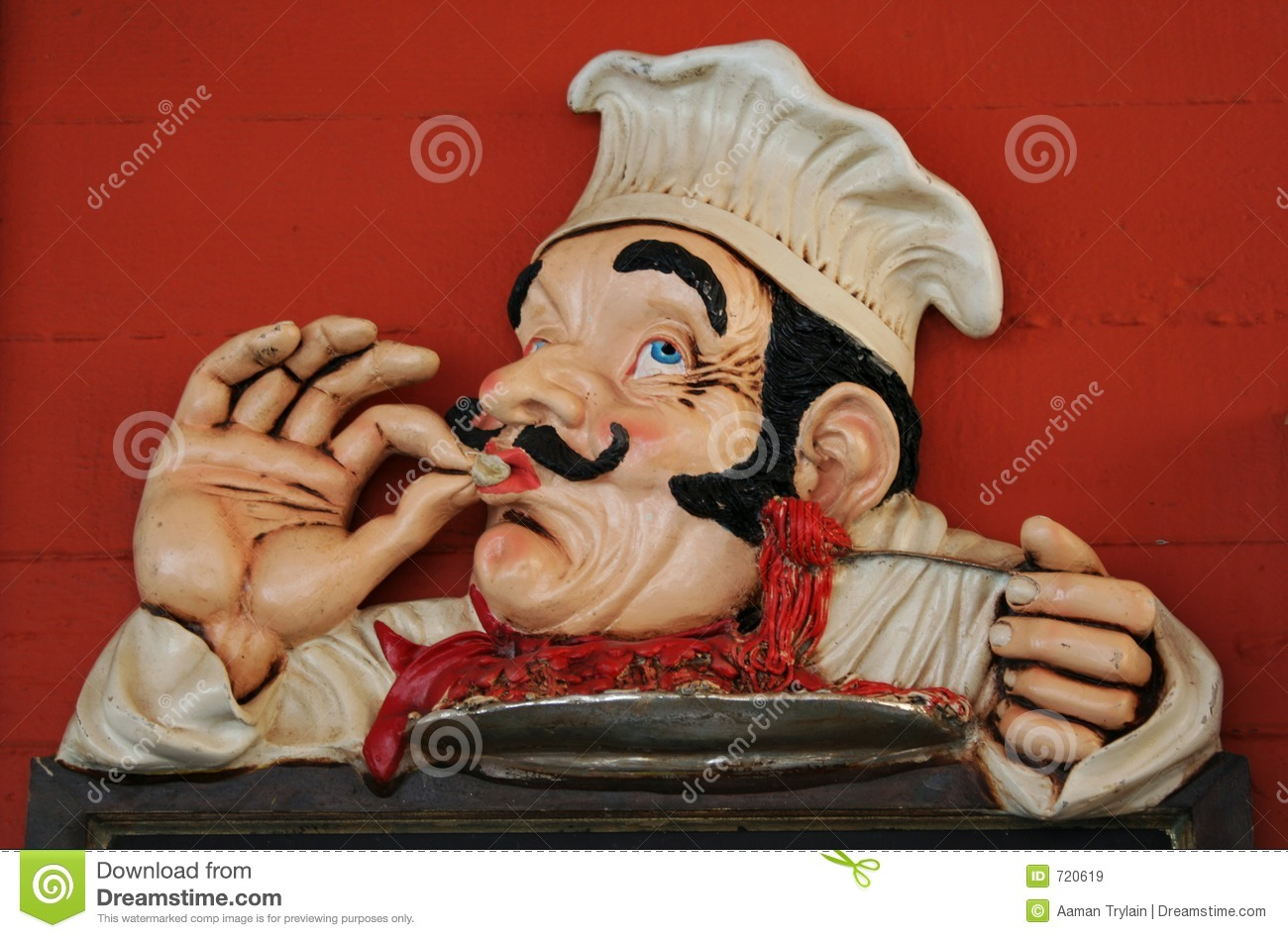 cartoon chef royalty free stock images image 720619