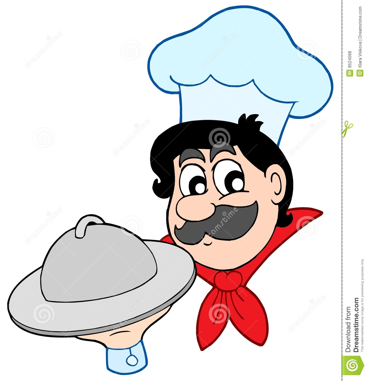 how to draw cartoon chef in photoshop