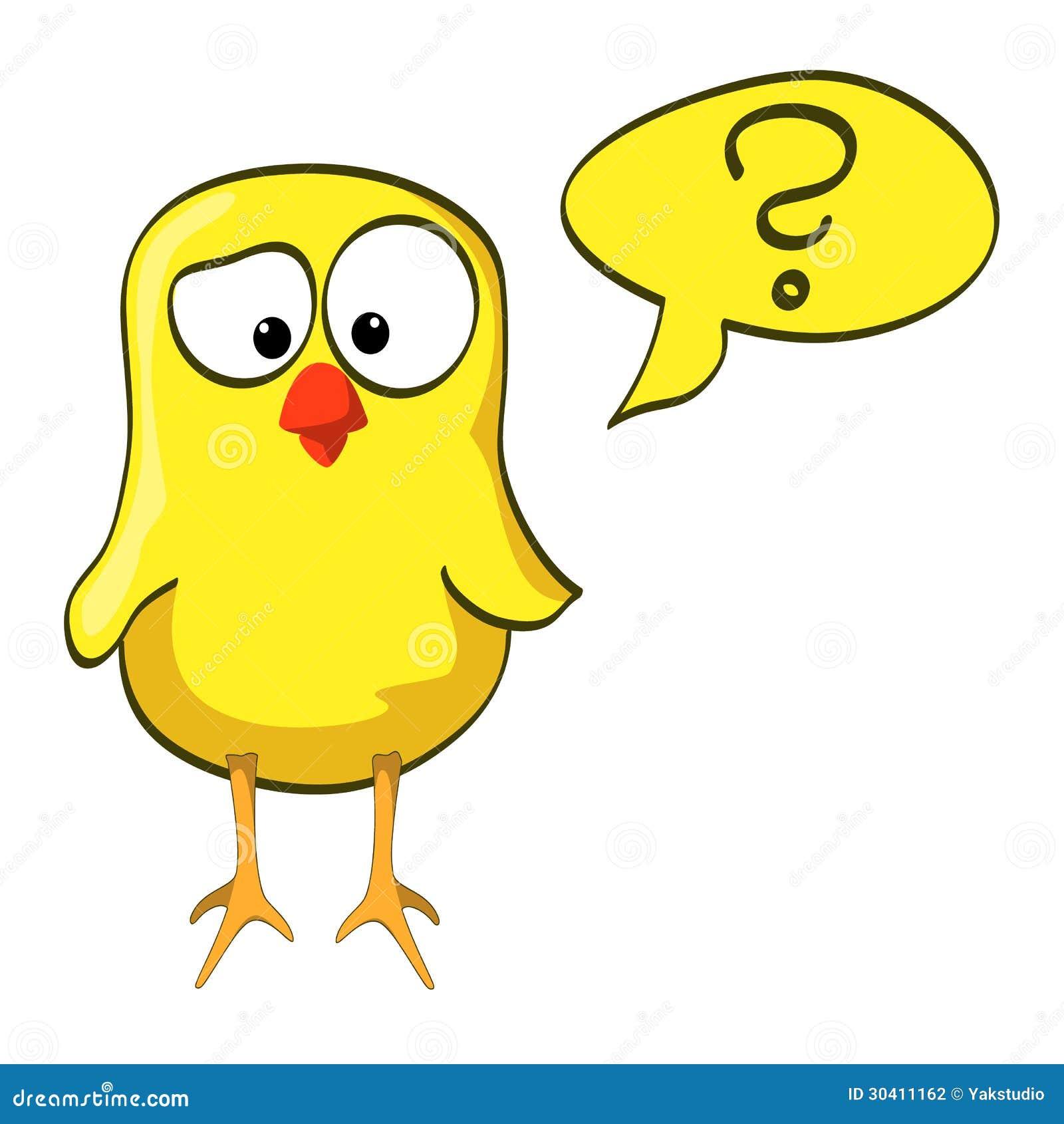Question Mark The Birds