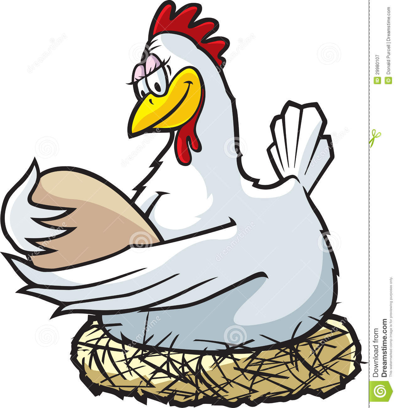 Image result for roosting hen cartoon