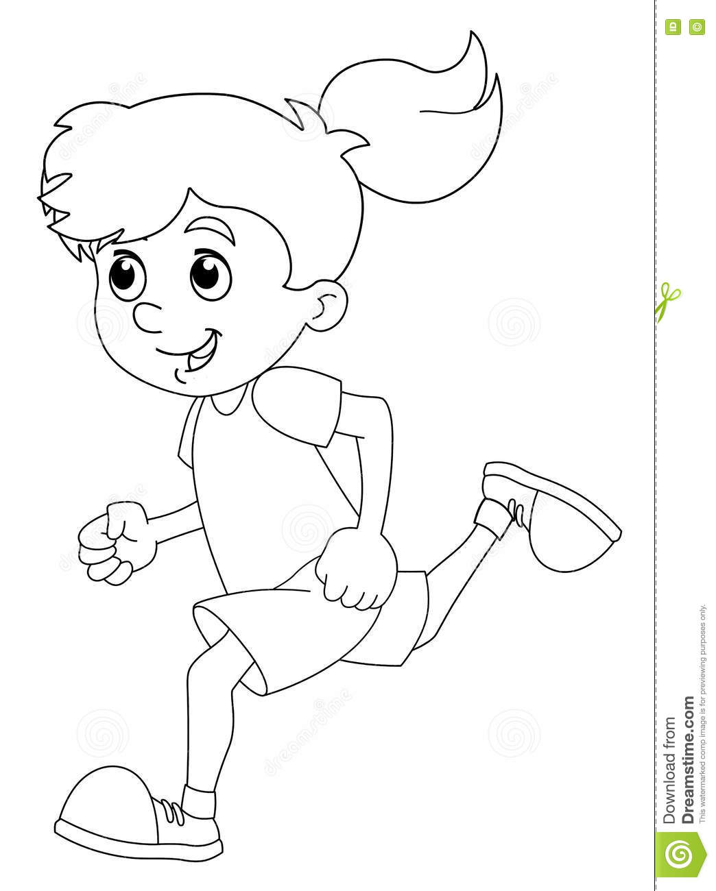 happy children coloring pages - photo#9
