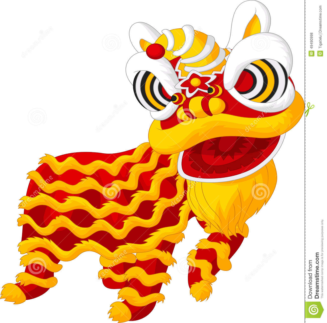 Chinese lion dance stock vector. Illustration of people 27127444.