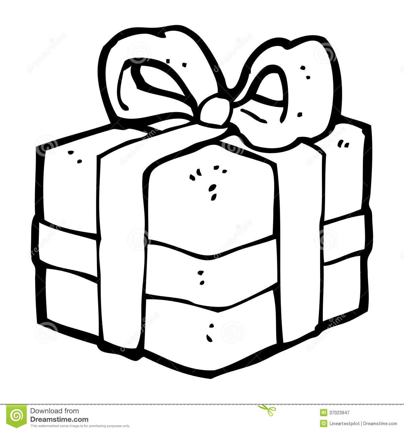 Cartoon Christmas Present Royalty Free Stock Photography - Image ...