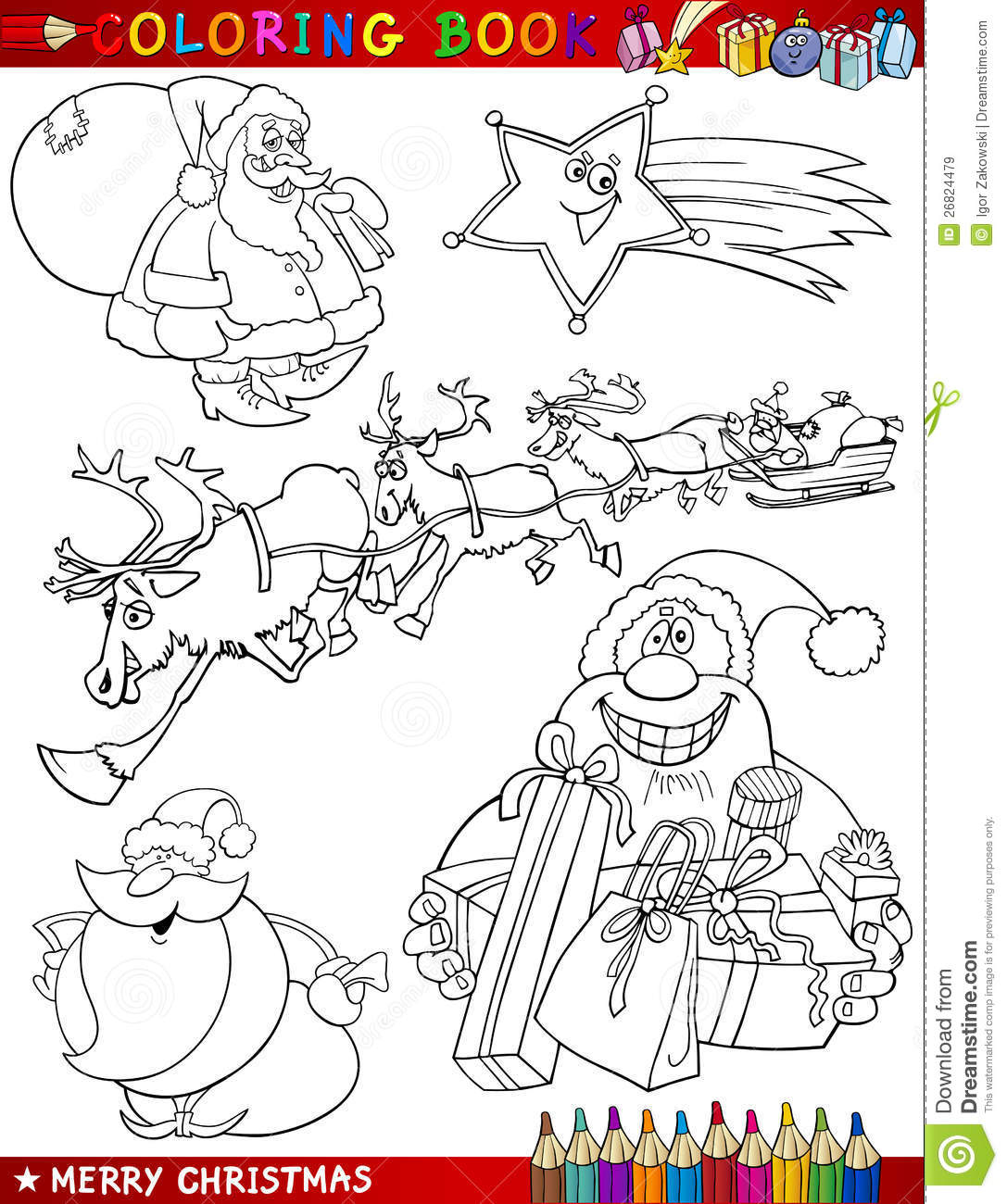 holiday themed coloring pages - photo #37