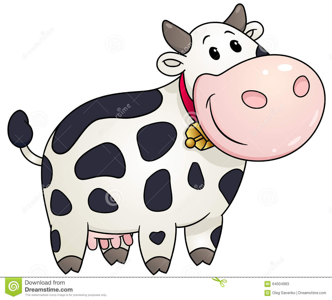 cow clipart simple - photo #7