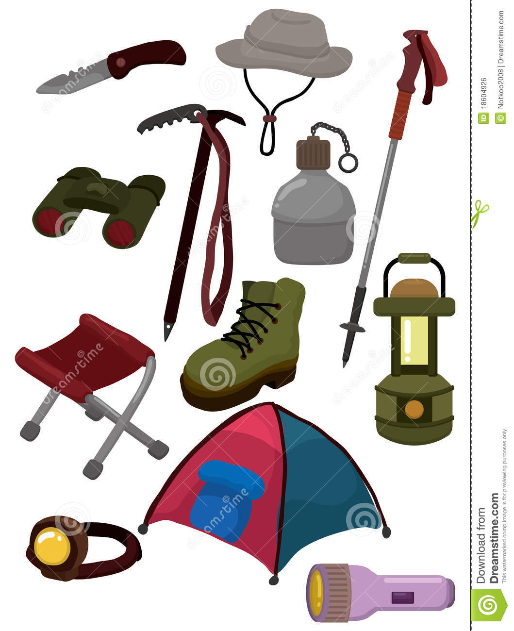 cartoon climb equipment icon royalty free stock image boot camp clip art images boot camp clip art images