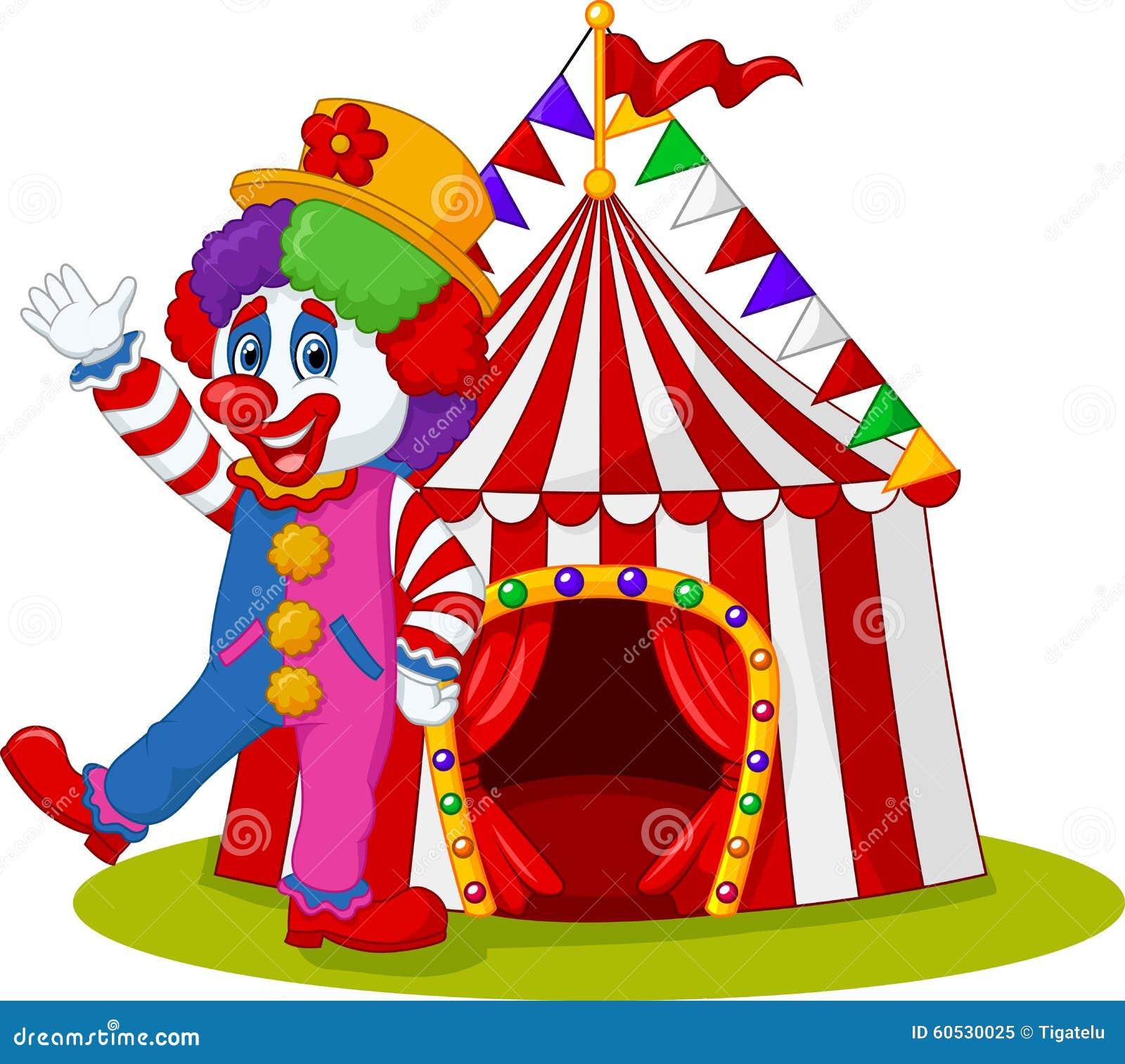 Cartoon clown waving hand  sc 1 st  Dreamstime.com & Cartoon clown waving hand stock vector. Illustration of happy ...