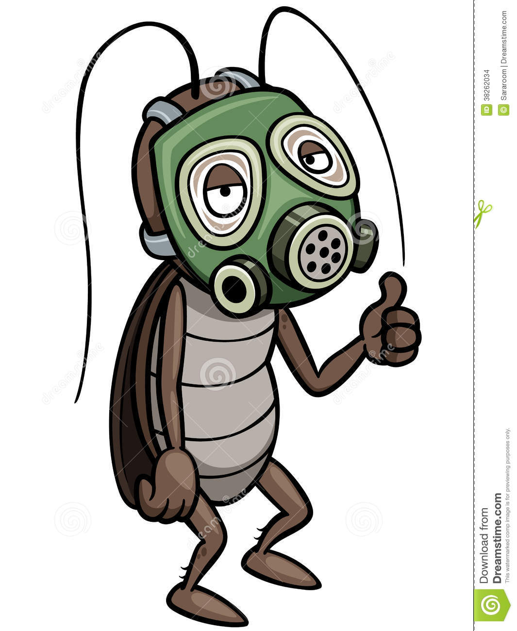 Cartoon Cockroach Stock Images - Image: 38262034