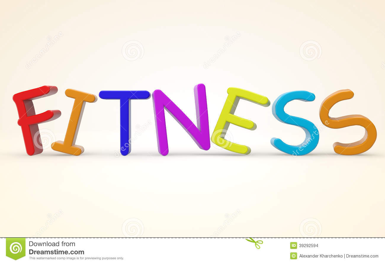 cartoon-color-fitness-sign-white-backgro