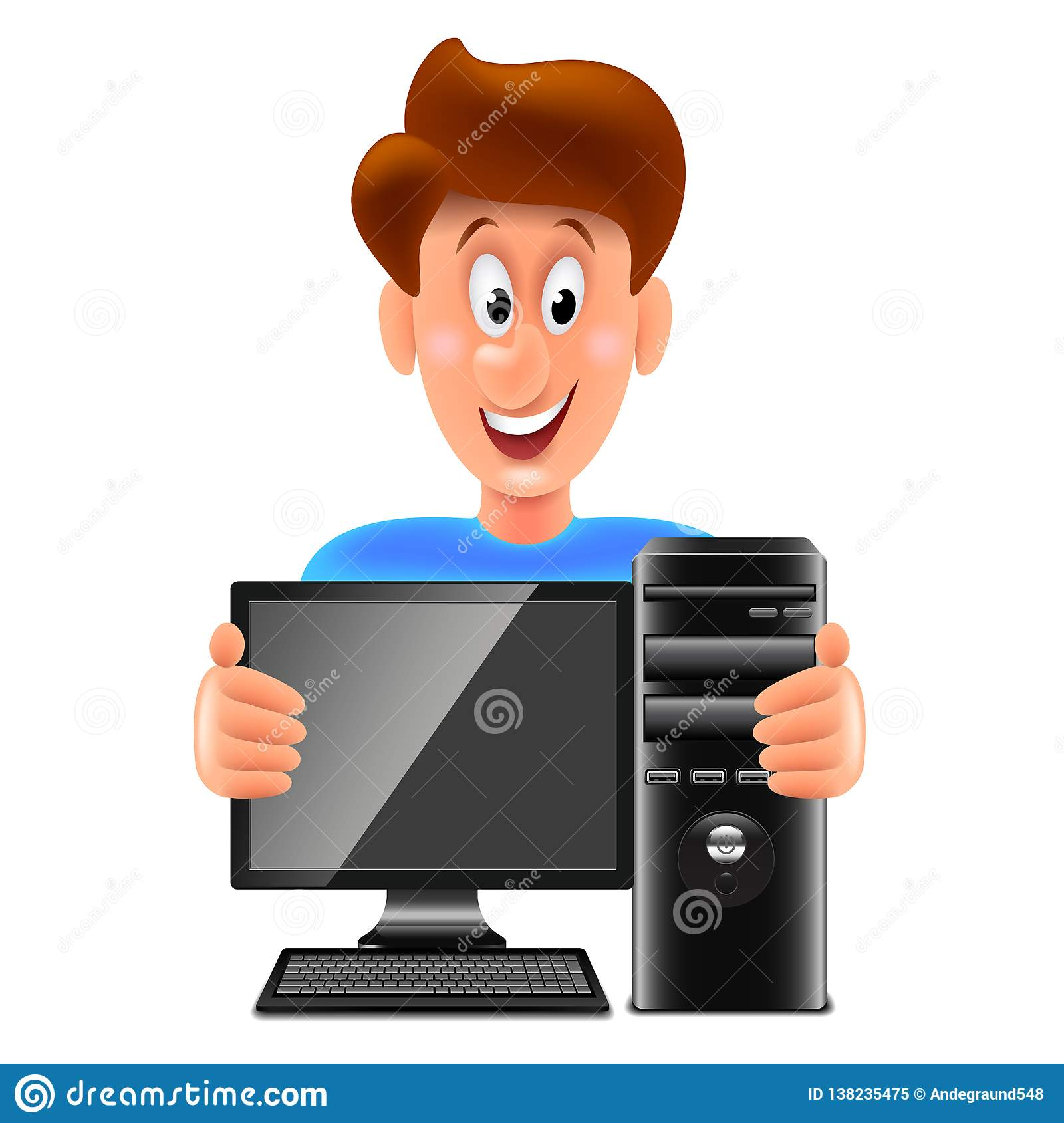 Cartoon Computer Repair Stock Illustrations 2 526 Cartoon Computer Repair Stock Illustrations Vectors Clipart Dreamstime While traditional 2d animated films are now made primarily with the help of computers. https www dreamstime com cartoon computer repair man isolated vector illustration white image138235475