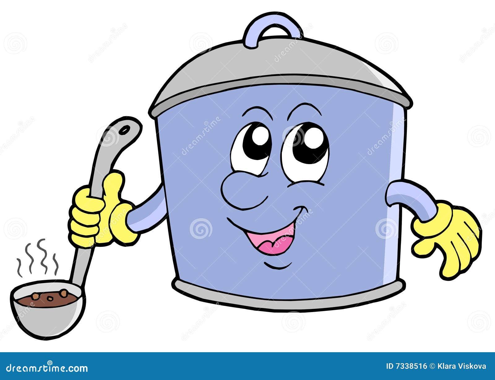 Soup Kitchen Cartoon