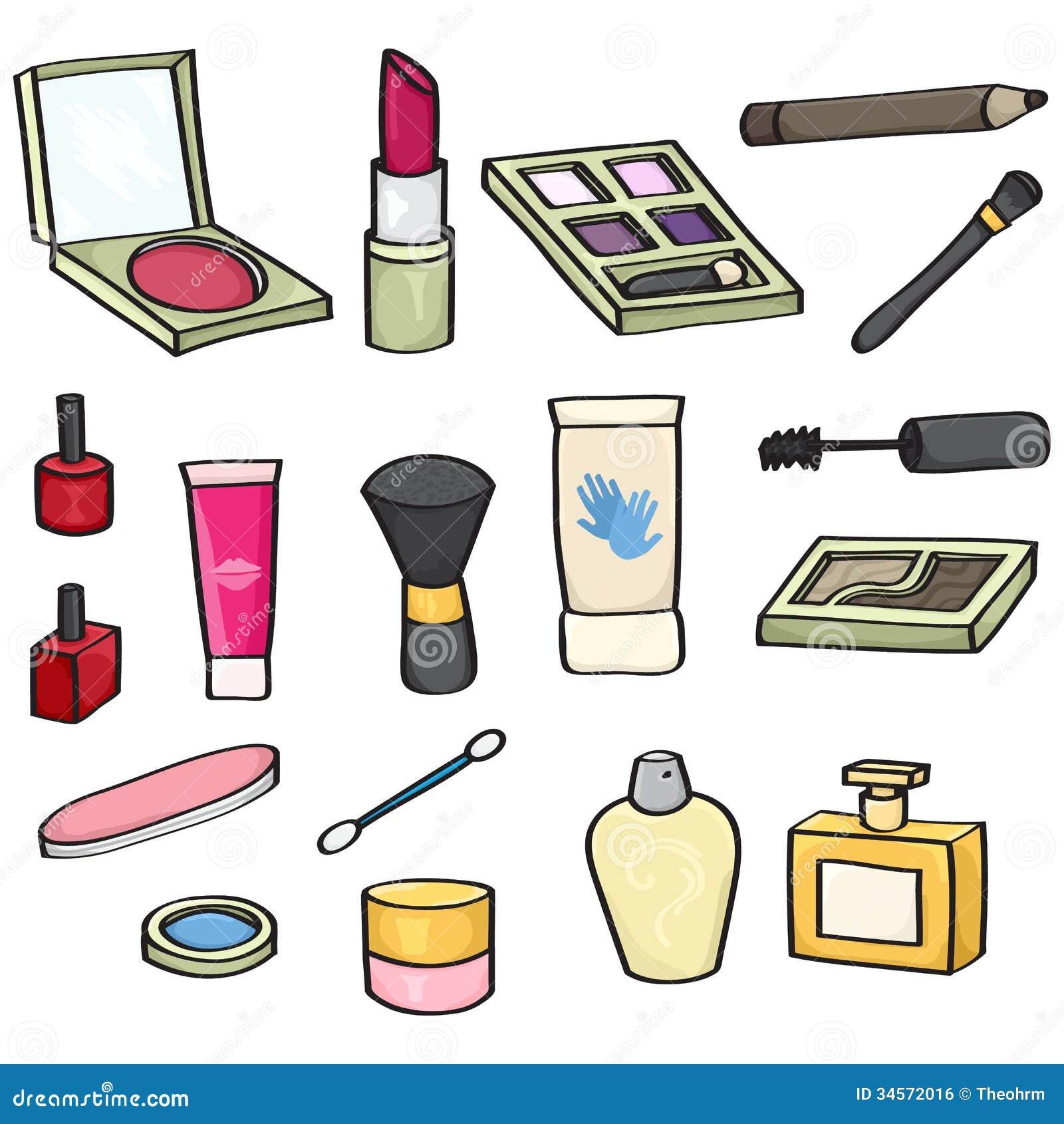 Картинки косметика рисовать