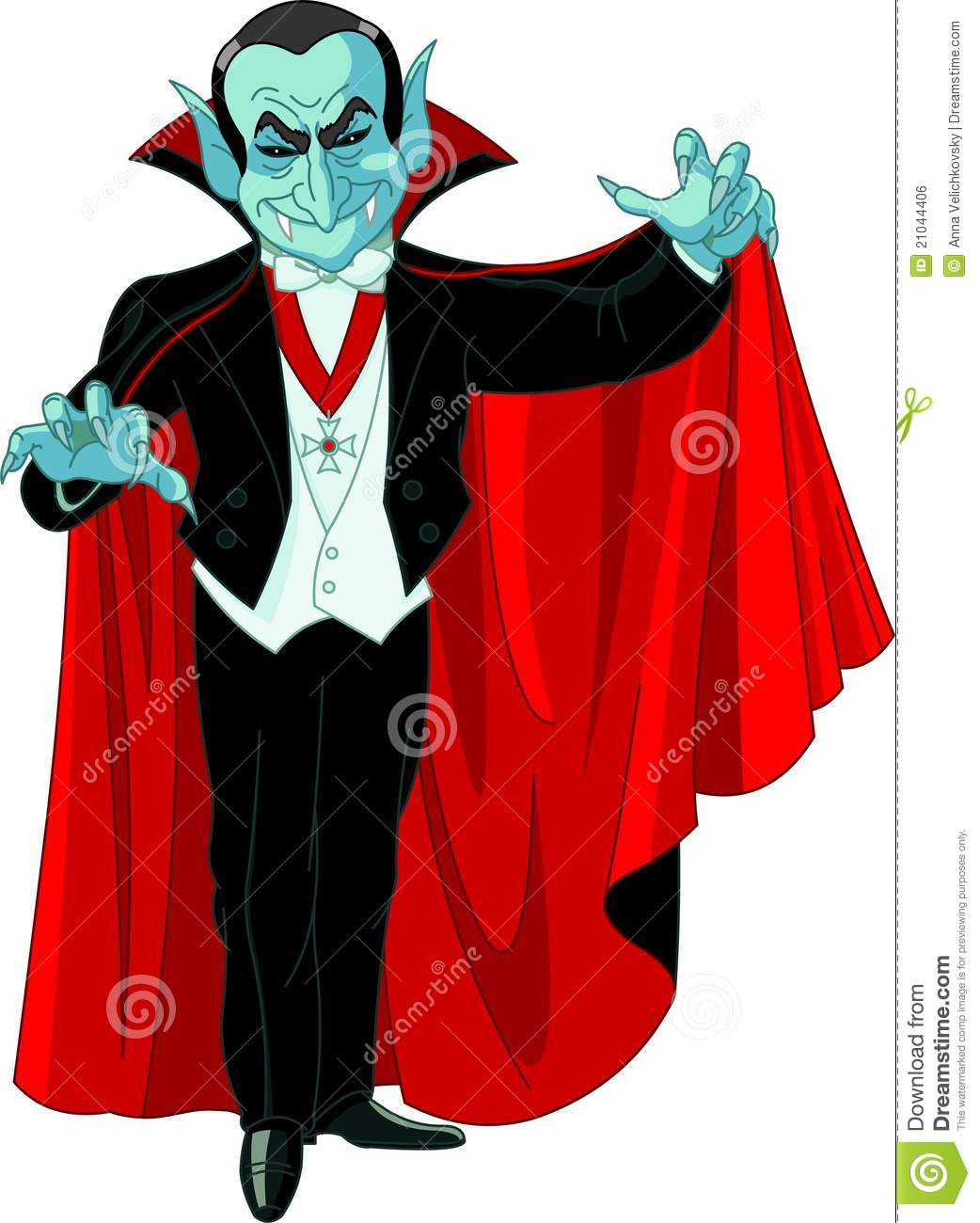 cartoon count dracula royalty free stock image