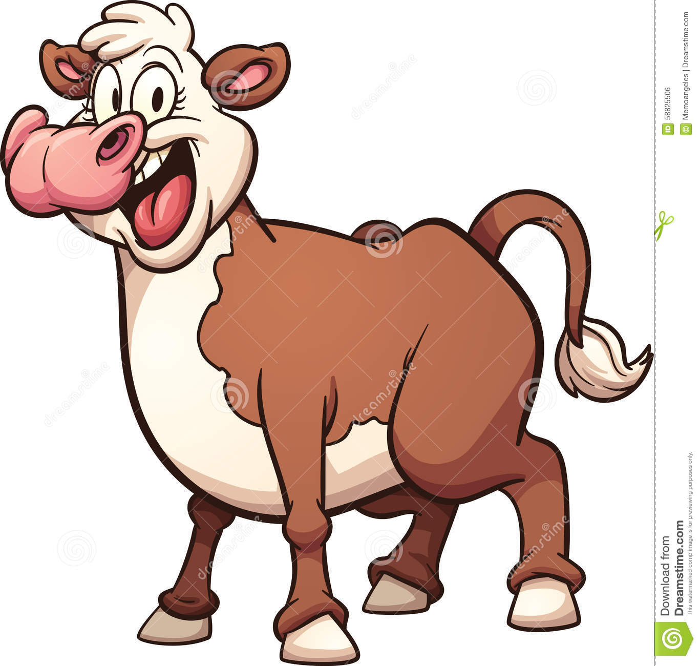 cow clipart simple - photo #20