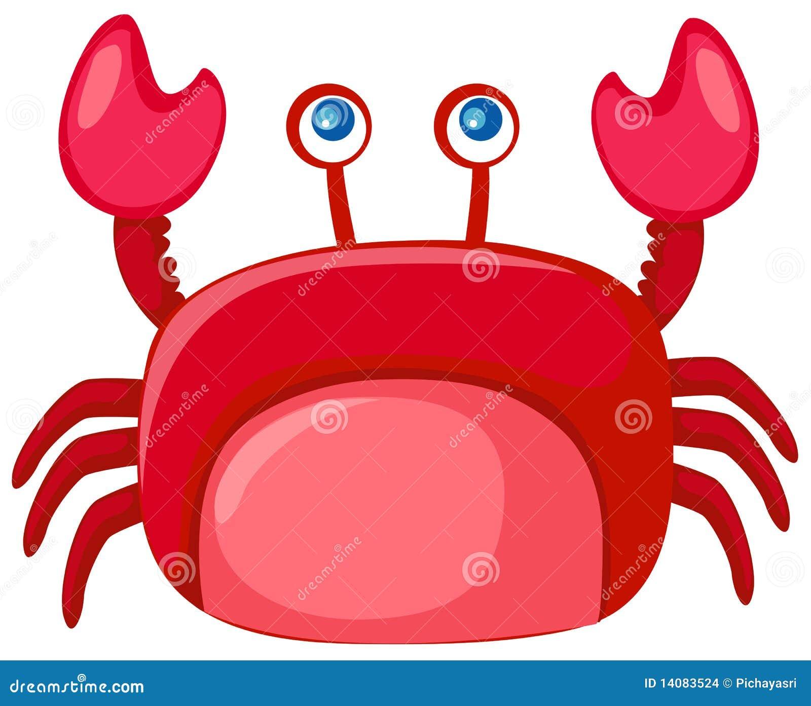 cartoon crab stock images image 14083524 Fresh Food Clip Art Sleeping Cot Clip Art