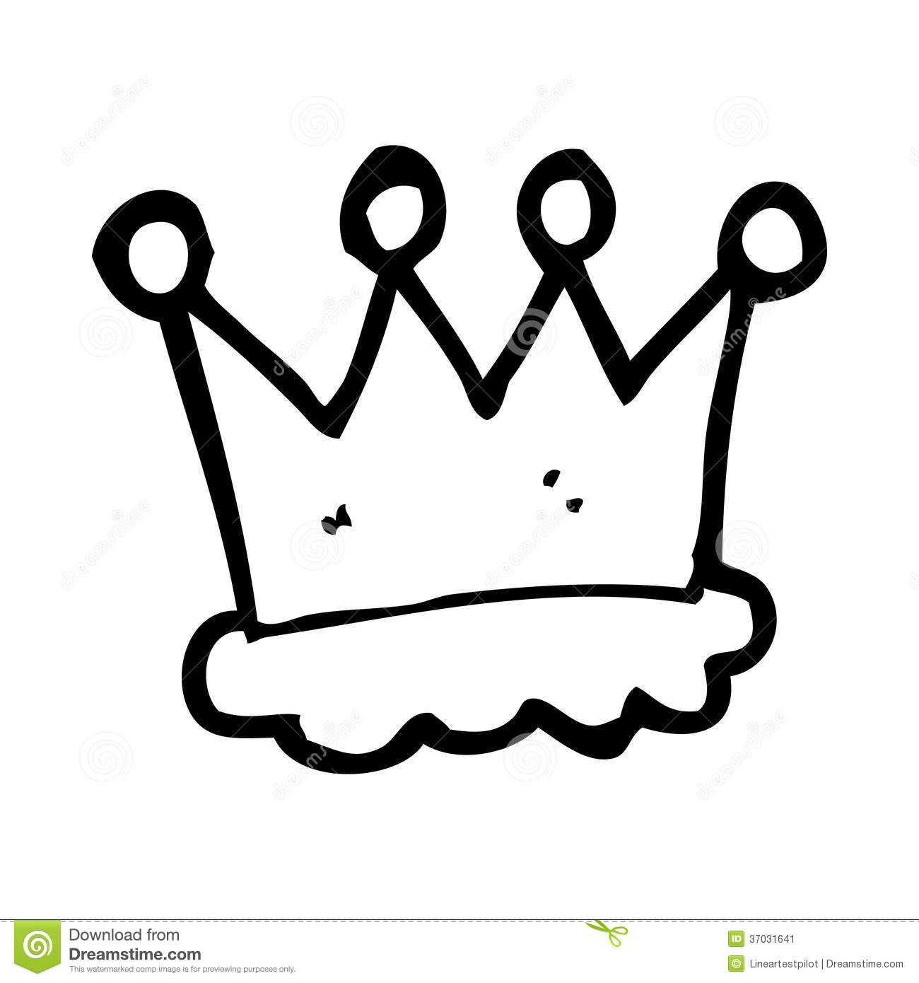Cartoon Crown Symbol Stock Illustration Illustration Of Cartoon 37031641 I hope you can find a. dreamstime com