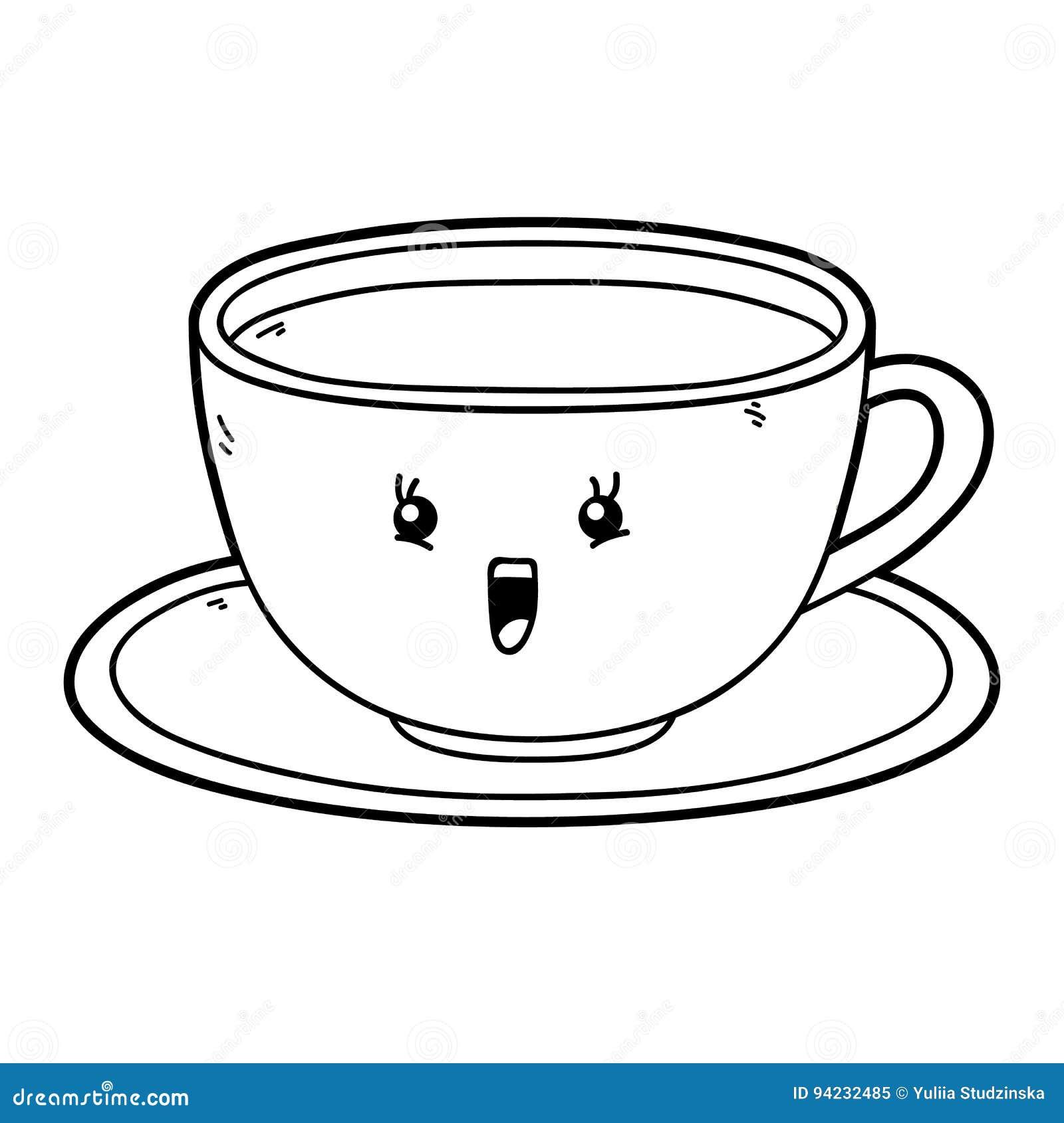 Cartoon Cup Stock Vector - Image: 94232485