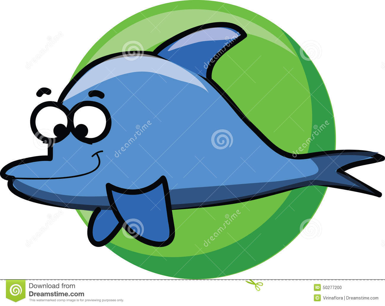 Cartoon Cute Dolphins,vector Stock Vector - Illustration of painting ...