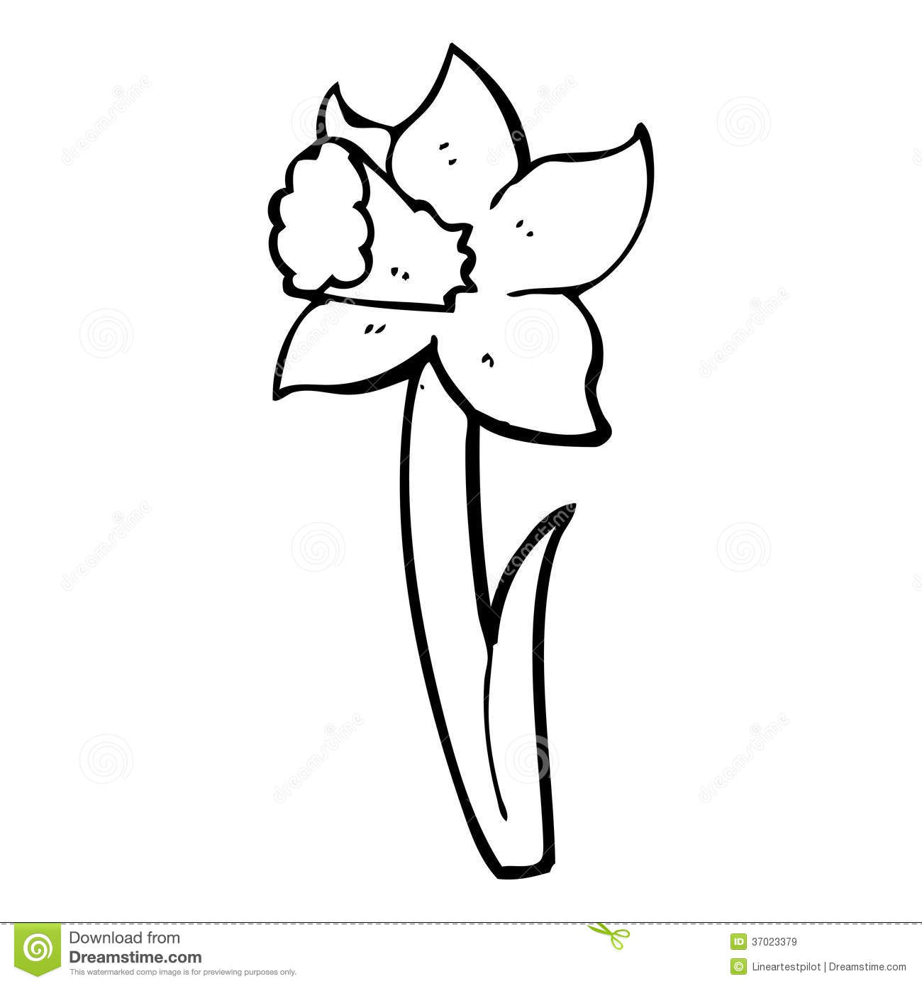eletragesi: Daffodil Clipart Black And White Images
