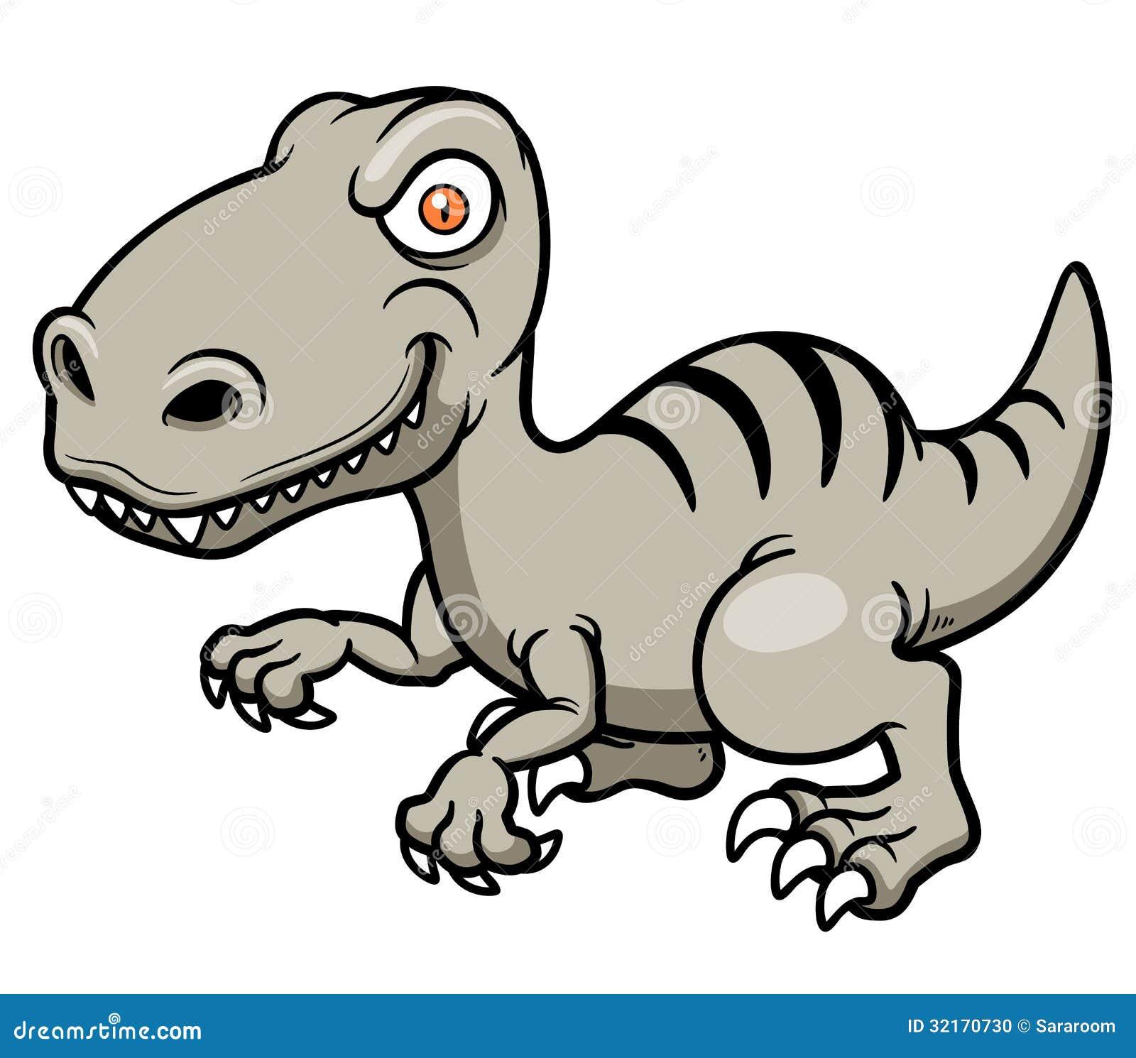 Cartoon Dinosaur Stock Photo - Image: 32170730