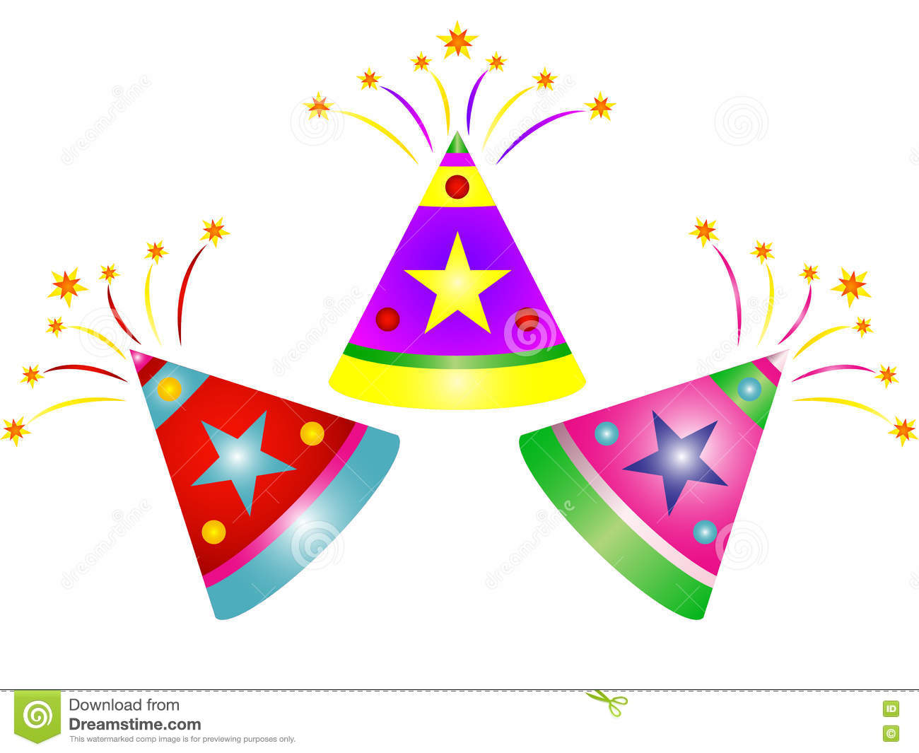 Cartoon Diwali Fireworks Clipart Stock Photo - Image: 77467010