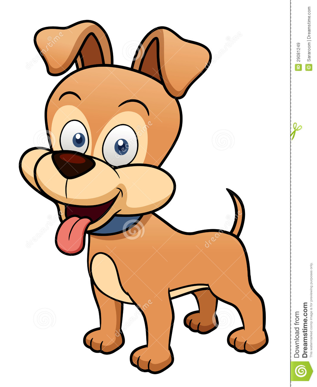 Cartoon Dog Royalty Free Stock Images - Image: 29081249