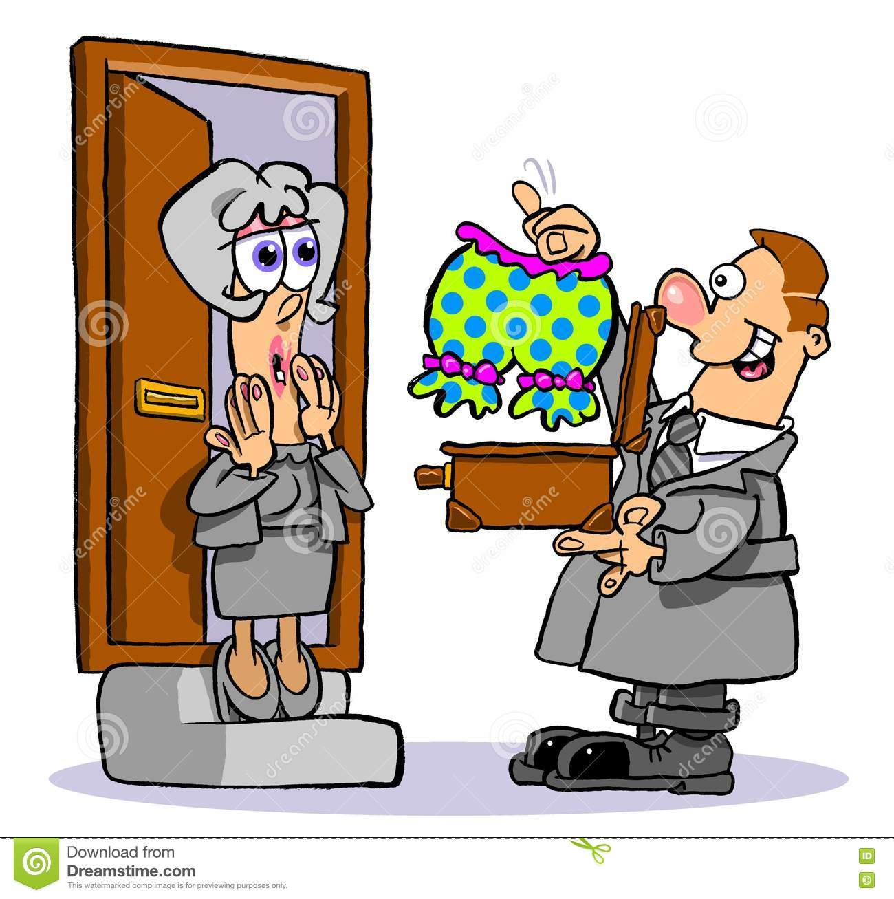 Door to door salesman clipart images for Door to door salesman