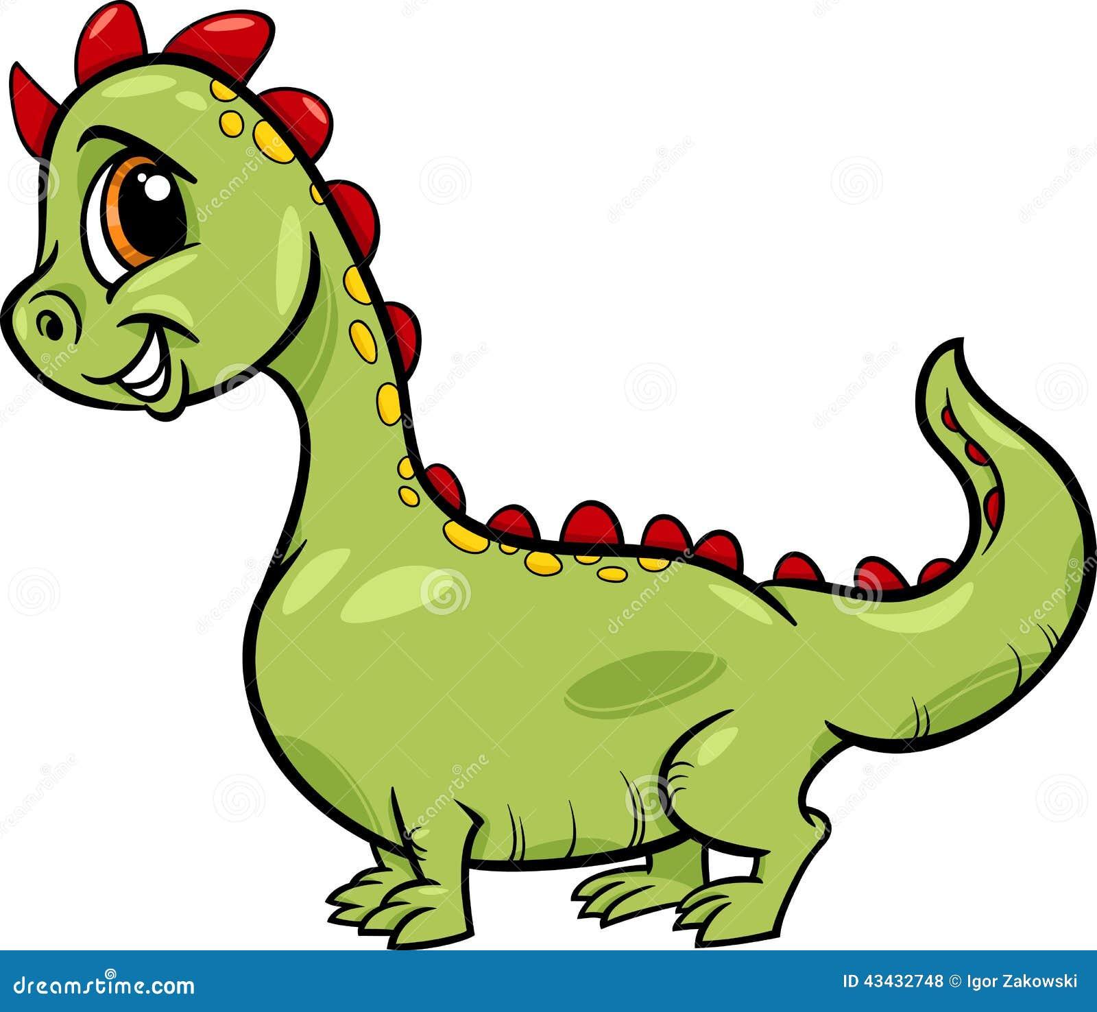 cartoon dragon cute fantasy character stock vector illustration of