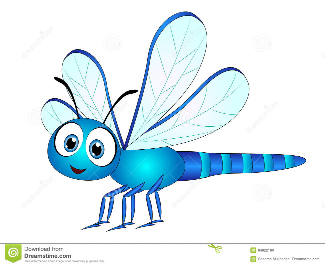 Cartoon Dragonfly Stock Illustrations 4 267 Cartoon Dragonfly