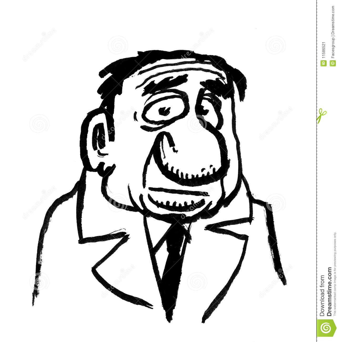 cartoon drawing of boss stock image image 11586521 Chief Cook Art Chief Cook Art