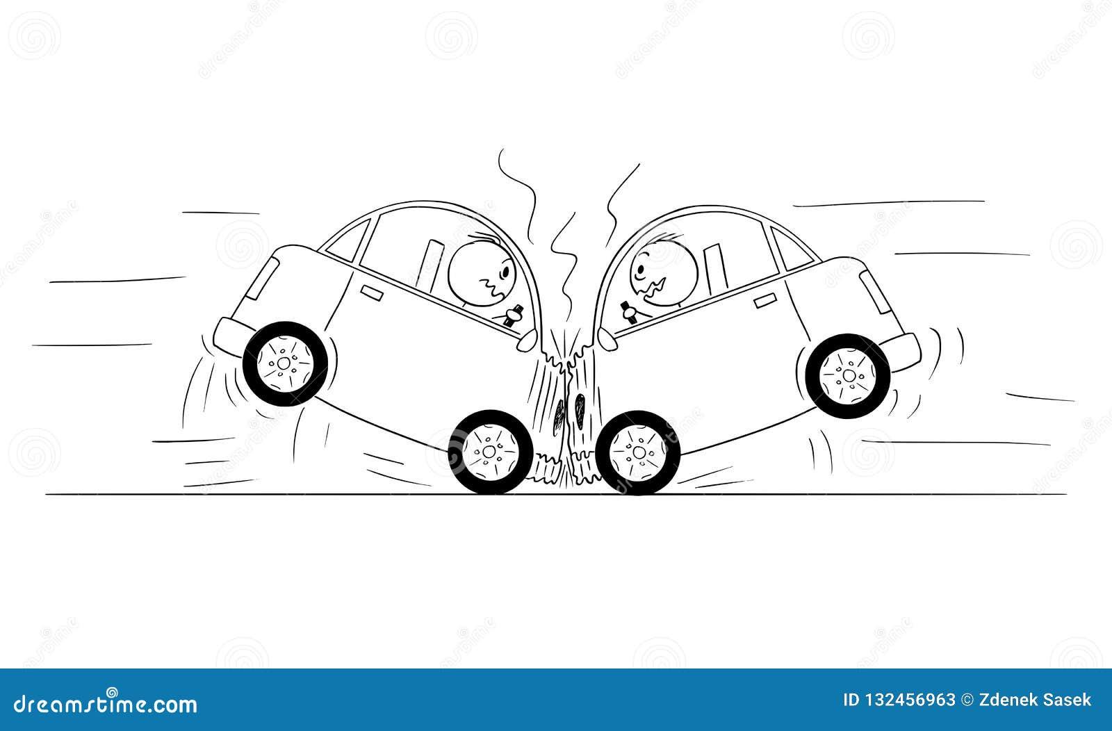 drawing cartoon cars