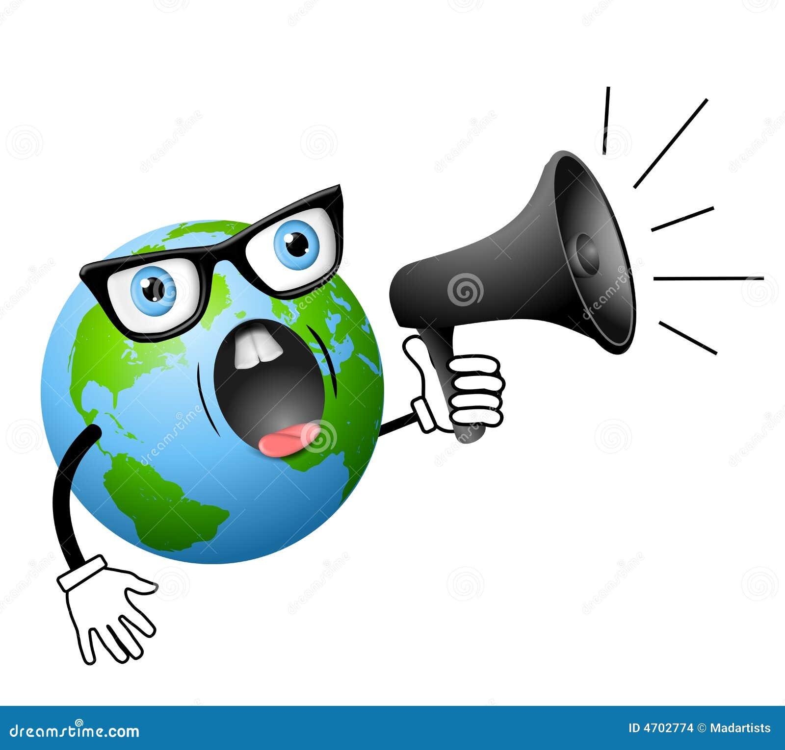 Bon anniversaire Angèle ! Cartoon-earth-yelling-megaphone-4702774