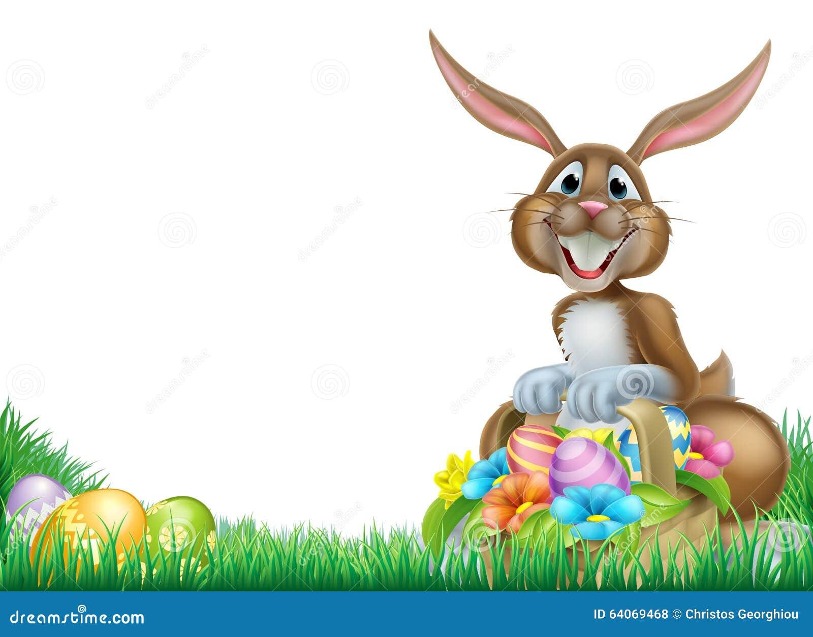 Cartoon Easter Egg Hunt Rabbit Stock Vector - Illustration: 64069468 for Easter Egg Hunt Clipart  110ylc