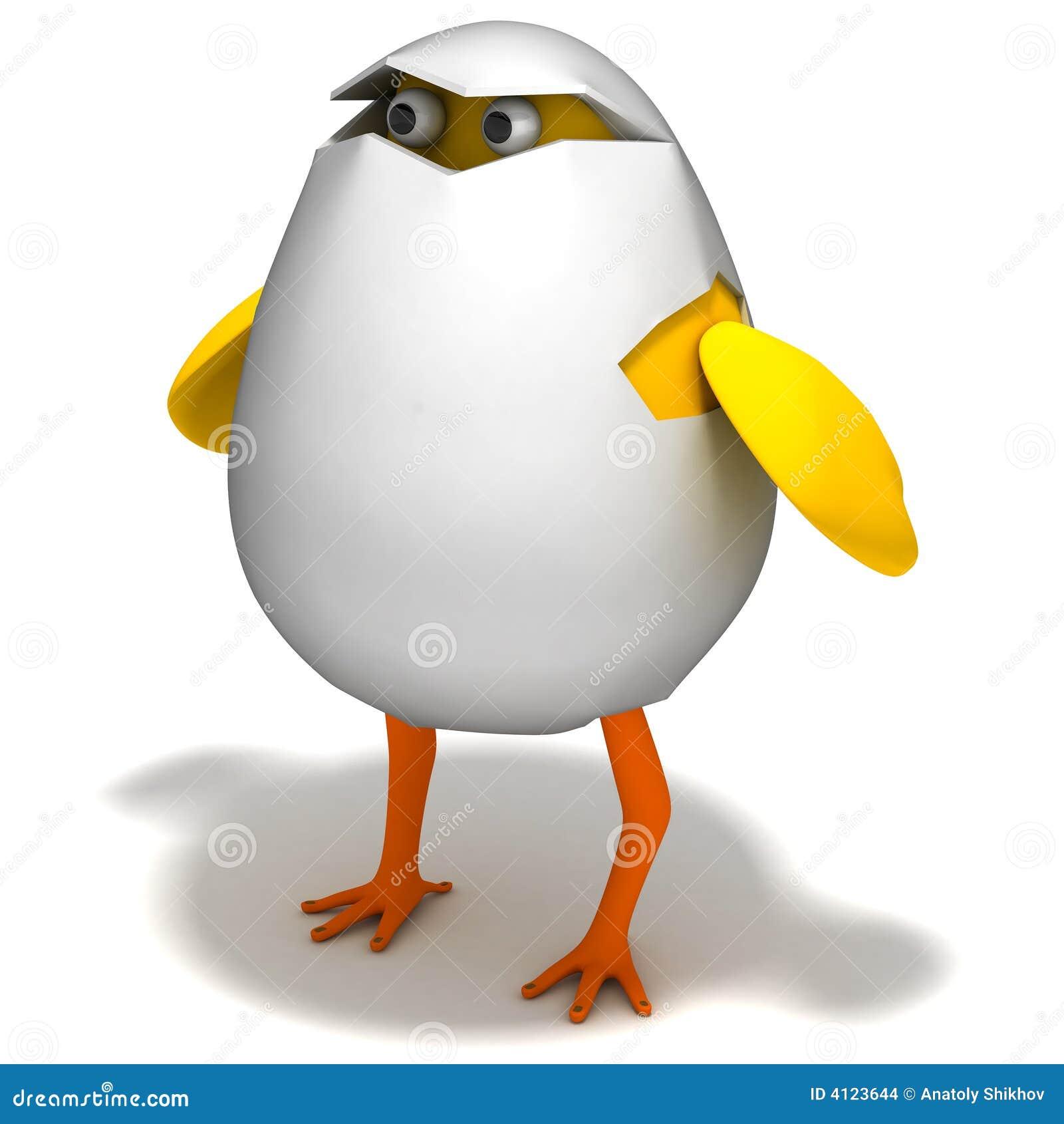 Cartoon Egg Stock Images Image 4123644