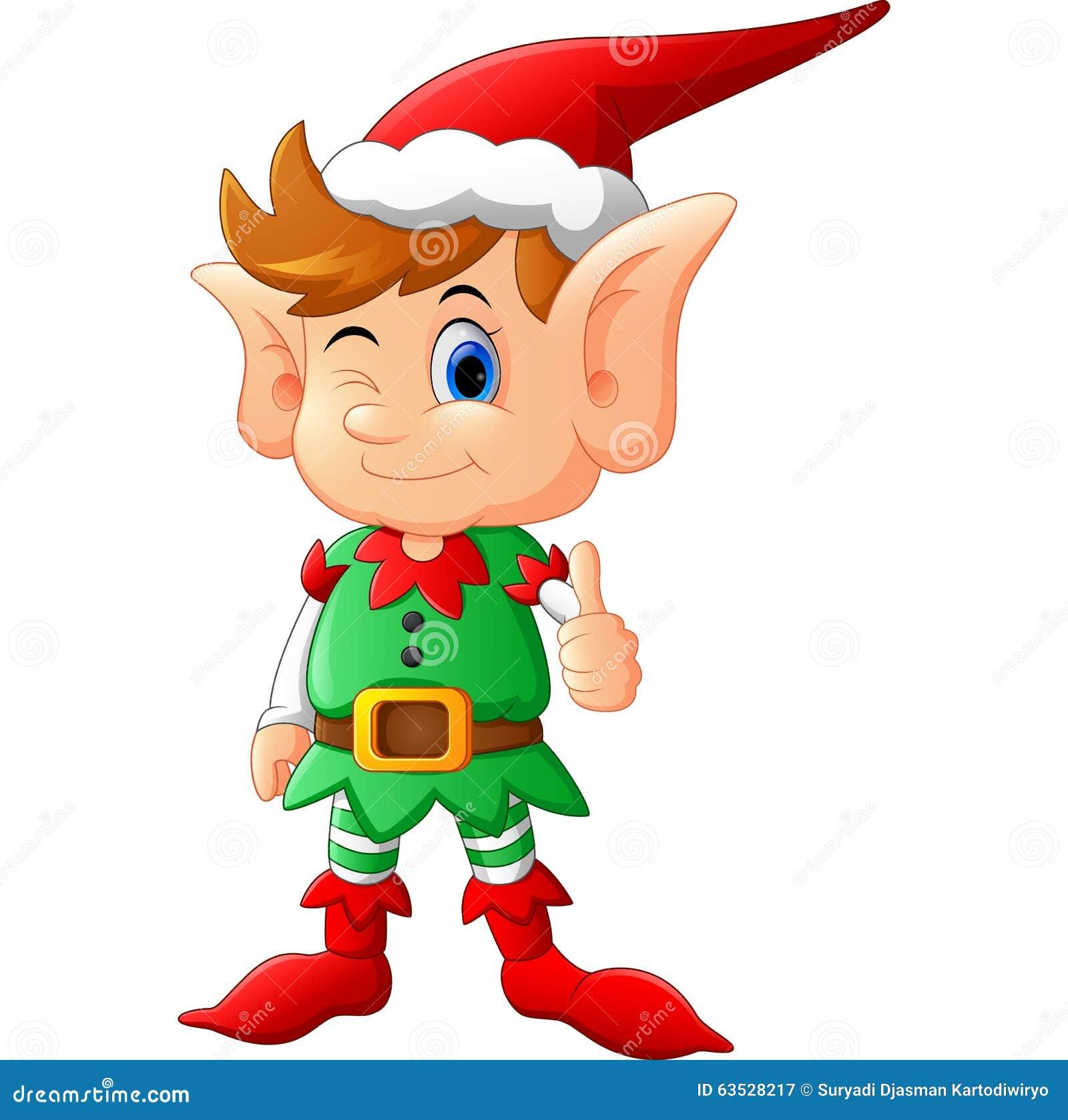 happy elf clipart - photo #41