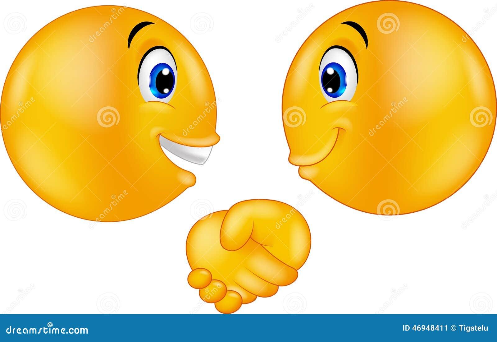 cartoon emoticons shaking hands stock vector image 46948411 handshake vector handshake vector