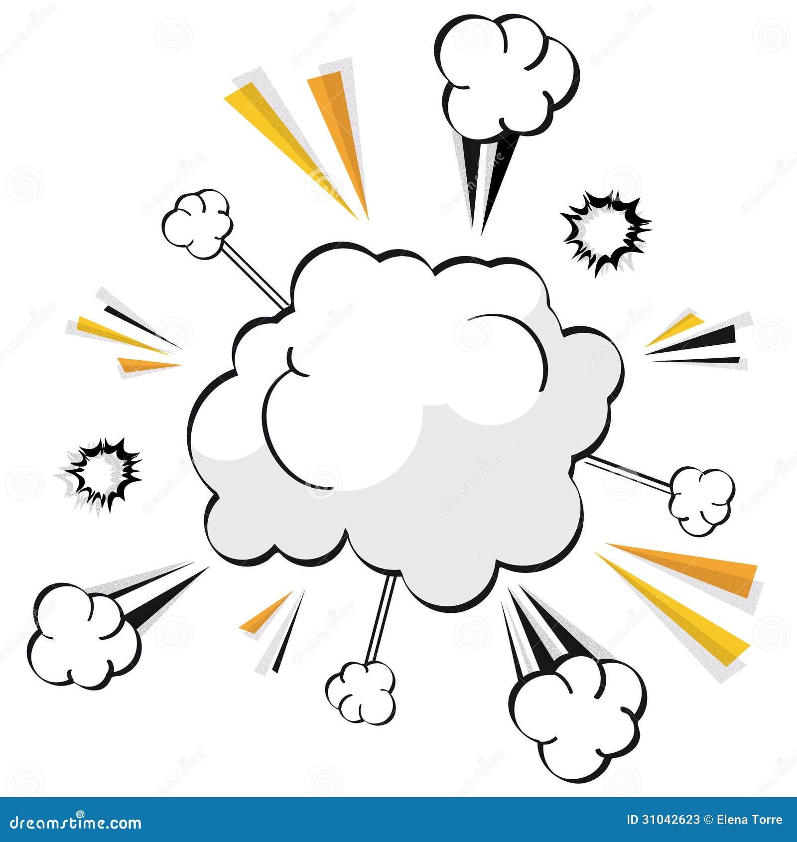 Cartoon Explosion Vector Stock Photos - Image: 31042623