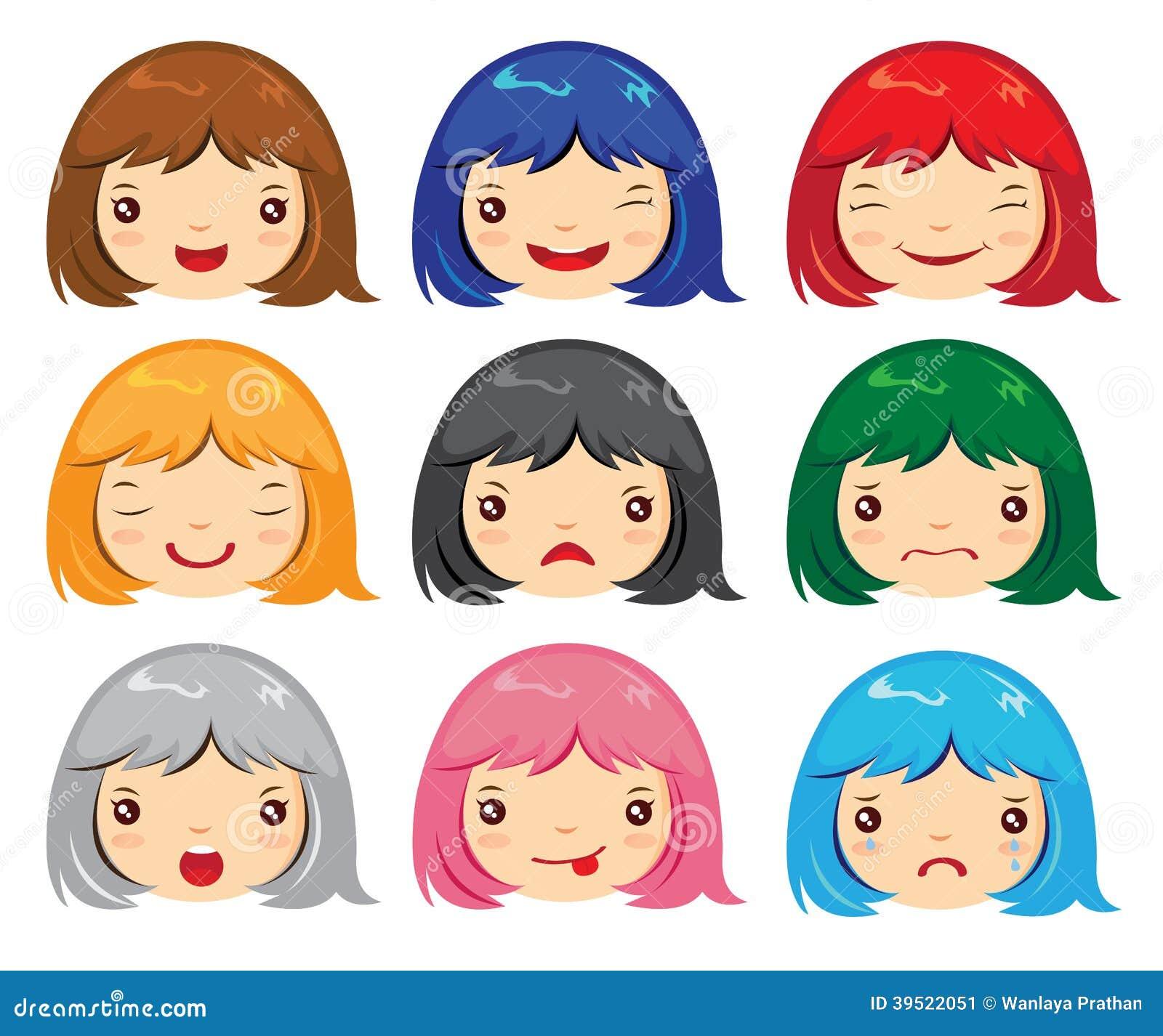 Sad Woman Face Cartoon 2 Stock Photos, Images, & Pictures – (444 ...
