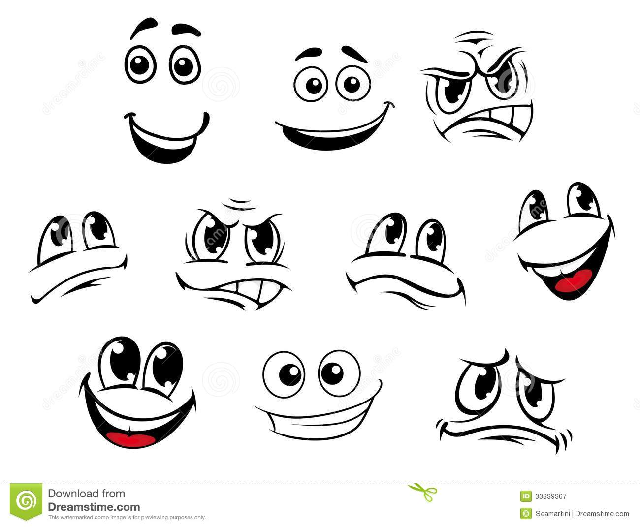 Emotion Cartoons Related Keywords & Suggestions - Emotion ...