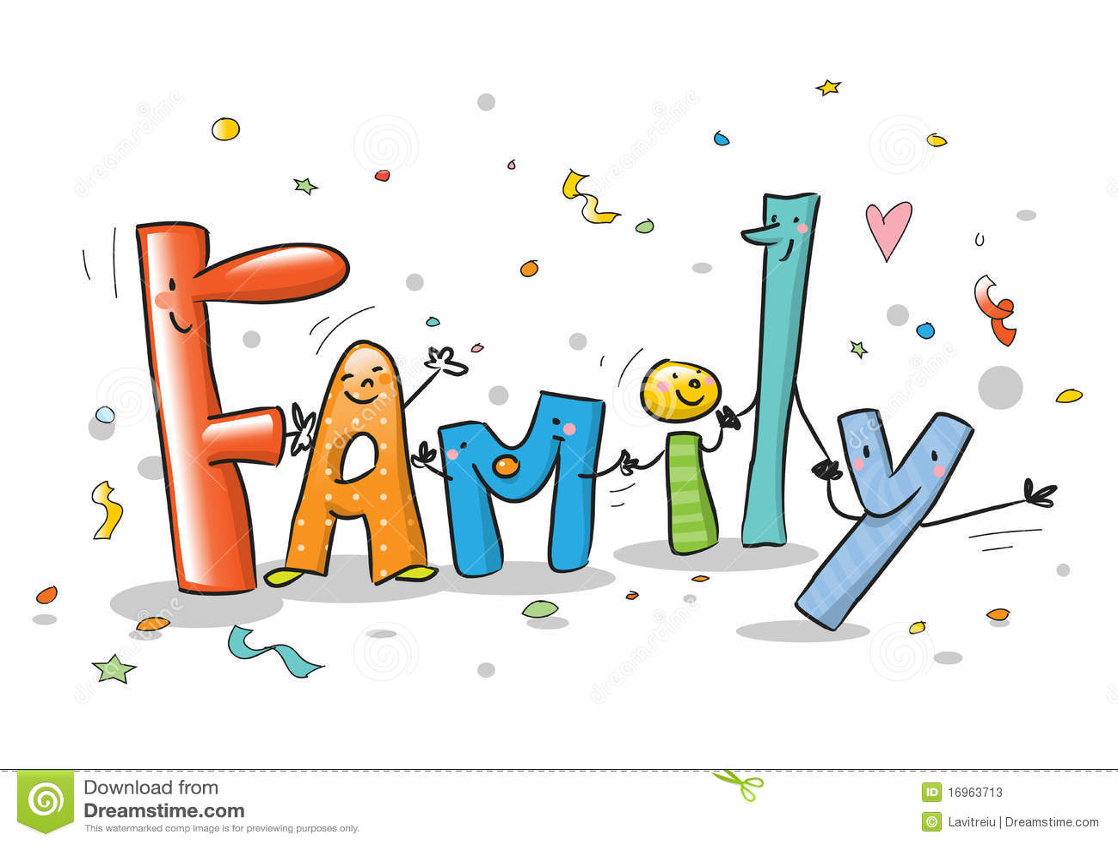 Family Reunion Cartoon