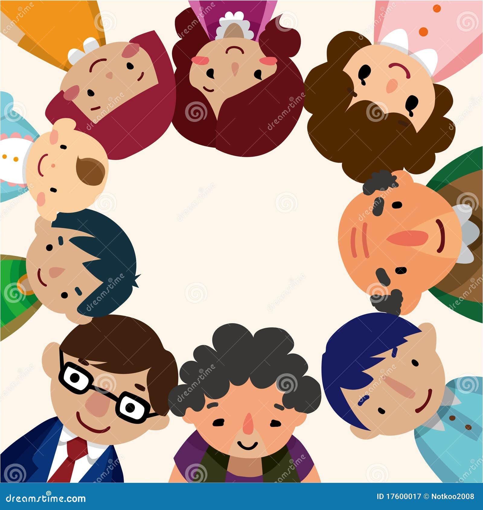 Home Design Decor App Cartoon Family Card Royalty Free Stock Photography Image