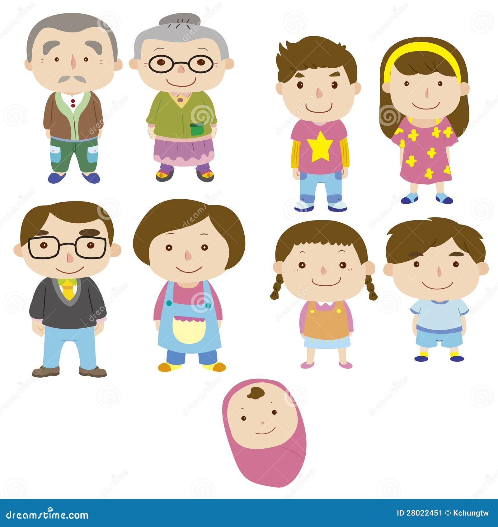 Draw A House Plan Cartoon Family Icon Stock Image Image 28022451
