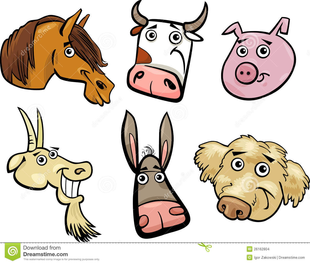 Cartoon dog stock photos images amp pictures shutterstock - Cow Dog