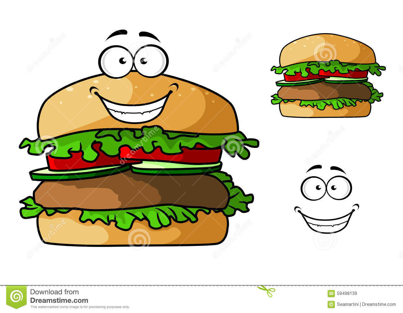 Cartoon hamburger fast food cartoon fast food cartoon cartoon pictures - Cartoon Fast Food Hamburger Character Stock Vector Image