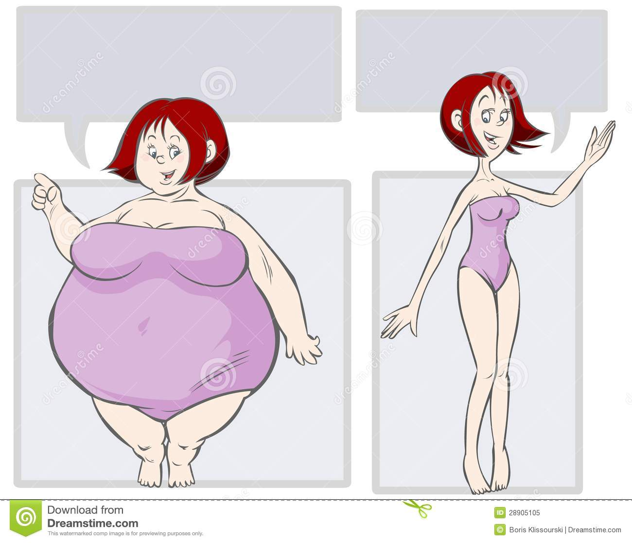 Fat Clipart Slim Person - Female Clipart Of People , Free Transparent  Clipart - ClipartKey