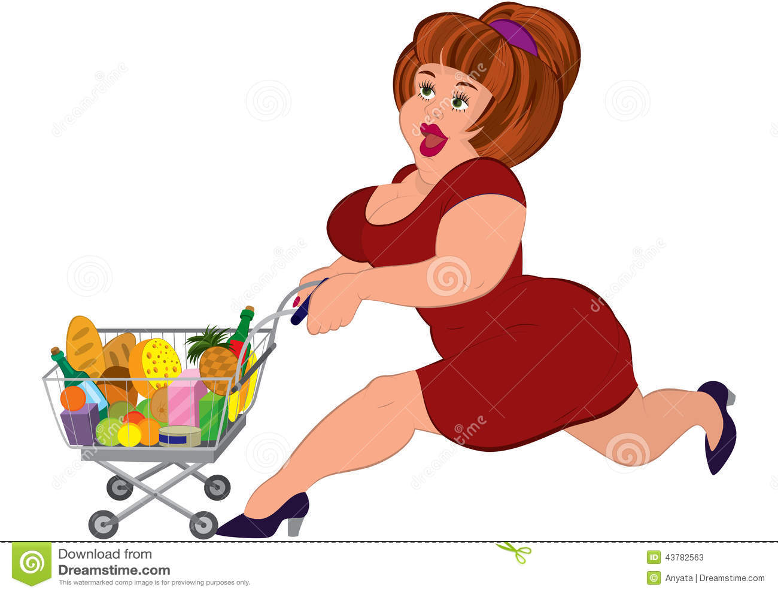 cartoon fat woman stock illustrations 3 174 cartoon fat woman rh dreamstime com Fat Female Cartoon Characters Fat Man Cartoon